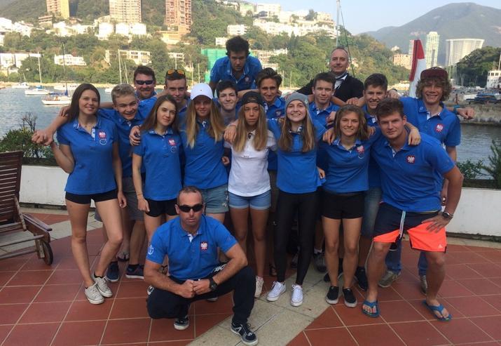 Reprezentacja Polski na mistrzostwa świata juniorów ISAF