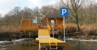 Powstały pierwsze szczecińskie zakątki wodne