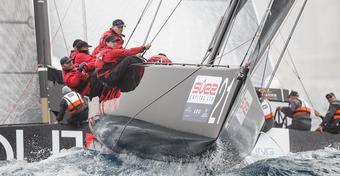 RC44 Valletta Cup: Silny wiatr i wzburzone morze [WIDEO]