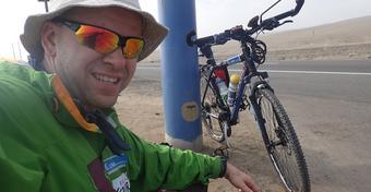 Trudności rowerowego odcinka Energa Solo Amazon Expedition